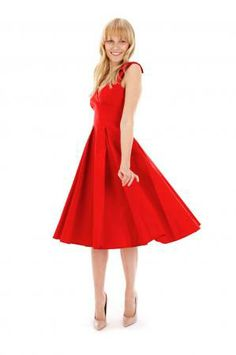 Ascot Red Classic Swing Dress Petticoats 93405b32d0f