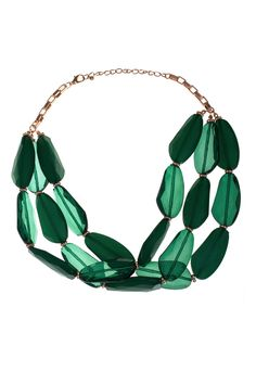 Dressing Your Truth - Type 3 Emerald Mountain Necklace