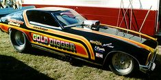 70s Funny Cars - Gold Digger