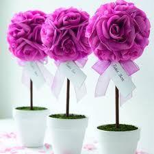 arbolitos flores