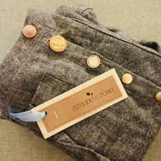 Customize to your style!  Custom made skirt in our hemp  organic cotton denim with the cutest vintage buttons!  Contact us with your dream skirt enquiries!