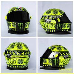 Valentino Rossi's special helmet for the 2015 winter tests