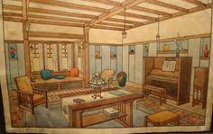 Gustav Stickley Craftsman Home