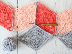 Behind the scenes: my Big Top blanket from Crochet Now magazine.
