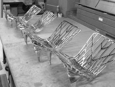 david adjaye: the washington collection for knoll - designboom   architecture & design magazine