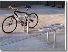 Twist-T | commercial-bike-rack | bike security rack | outdoor bike security | Function First Design |  Creative bike racks