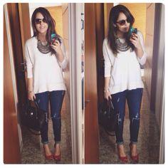 Jeans e tricô