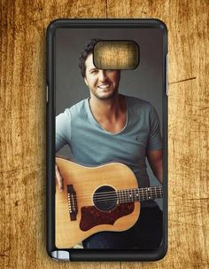 Luke Bryan Guitar Star Singer Samsung Galaxy Note 5 Case