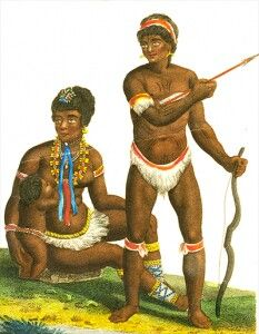 """""""Caribs"""" Savage and barbarian?!?! Yet they demonstrated the wherewithal to negotiate establish treaties government etc... RiiiiightThe islands are apart of America too by the way"""