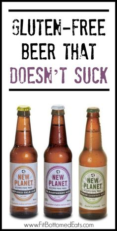 Yes, gluten-free beer that doesn't suck. Gluten Free Wine, Gluten Free Drinks, Gluten Free Deserts, Dairy Free Recipes, Vegan Gluten Free, Beer Packaging, Wine Drinks, Beverages, Wine And Beer