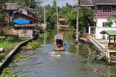 Bangkok's Floating Market at Klong Lat Mayom: http://www.ytravelblog.com/bangkok-floating-markets-2/