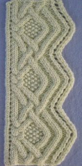 by Annie Maloney The third in a series of original stitch designs, and features 33 textural cable stitch patterns, designed by the author. Note: File size is 8MB, document is 40 pgs plus cover.…