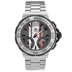 Tag Heuer Men's CAH7011.BA0860 Swiss Quartz Movement Chronograph Watch