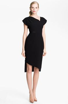 Rachel Roy Mesh Insert Sheath Dress available at #Nordstrom