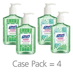 Purell advanced hand sanitizer soothing gel for the workplace fresh scent with aloe and vitamin e 8 fl oz pump bottle pack of 4 9674 06 ecdeco Vitamin E, Best Hand Sanitizer, Reception Areas, Break Room, Jelsa, What To Pack, Crunches, Workplace, At Least
