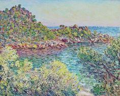 Landscape near Monte Carlo  -   Claude Monet 1883  French 1840-1926