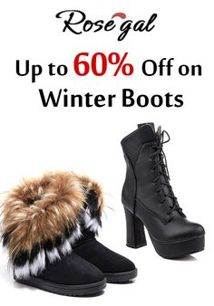 Rosegal.com is offering upto 60% discount on winter boots. Place your order now and get this offer. Just click the offer and enjoy saving.  For more Rosegal Coupon Codes visit:  http://www.couponcutcode.com/coupons/holiday-sale-2015-up-to-40-off-on-winter-boots/