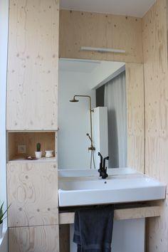 Bathroom Pauluscollection Bathroom plywood mirror home interior design