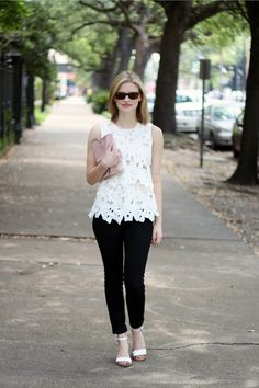 Elements of Katie : Tiered White Lace