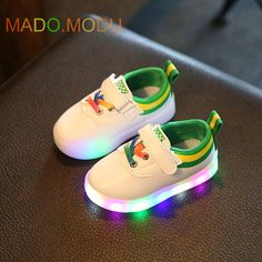 >> Click to Buy << fashion Children Sneakers with light 2017 New Spring Brand Children Casual shoes girls LED Shoes for boys Sneaker Size 21~30 #Affiliate