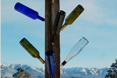 How to Build a Wine Bottle Tree | Hunker