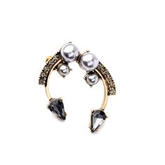 Unique Retro Symmetry Imitation Pearls Stud Earrings Fashion Jewelry China That`s just superb! Visit us