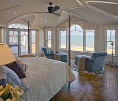 // beach house // view.. Maybe prefer a lake or snow mountain but awesome room!