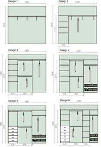 Ideias de design de closet