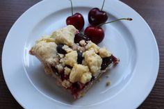 veganer Streuselkuchen mit Beeren