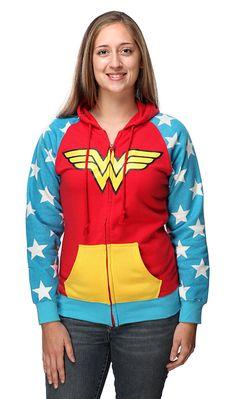 Wonder Woman hoodie!