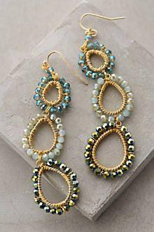 beaded earrings www.the-mermaids-tale.com