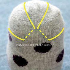 Fasziniere die Kinder mit diesen super süßen Socken Eulen - Augenbrauen und Ohren der Eule