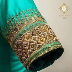 Simple Blouse Designs, Blouse Designs Silk, Designer Blouse Patterns, Simple Designs, Hand Embroidery Designs, Embroidery Blouses, Wedding Saree Blouse Designs, Maggam Work Designs, Work Blouse