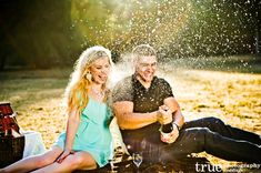 such a fun engagement picture