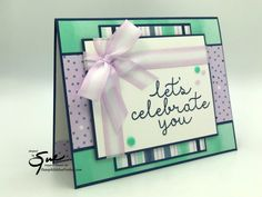 Stampin' Up! Celebrating with Patterns for the Happy Inkin' Thursday Blog Hop | Stamp With Sue Prather