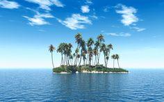 Tropical Beach Island