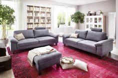 Das #Ecksofa Steinker bietet durch eine #Schaumpolsterung einen bequemen #Sitzkomfort. #Wohnzimmer #Garnitur #Polstermöbel Findet ihr unter www.moebel-ideal.de