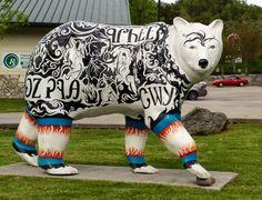 A Cherokee Art Bear