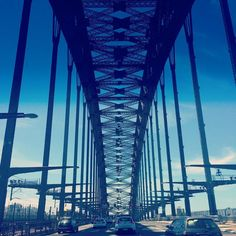 Driving across the Sydney Harbour Bridge in a really wide caravan was a little nerve wracking! Incredible view though.  Beautiful way to start 2016. #NYD2016 #downunder #travel #wanderlust #sydney #sydneyharbour #sydneyharbourbridge #Australia by differentimage http://ift.tt/1NRMbNv