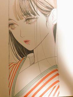eye-lash-curlers-your-secret-to-big-and-beautiful-lashes - More Beautiful Me 1 Manga Drawing, Manga Art, Art Drawings Sketches, Cute Drawings, Pretty Art, Cute Art, Poster Anime, Character Art, Character Design