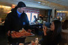 El cangrejo real, un imprescindible de la gastronomia de la Laponia noruega / King crab
