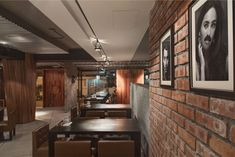 Italian Restaurant Inspired by the Old Train Station modern rustic decor Rustic Cafe, Rustic Restaurant, Rustic Logo, Modern Rustic Decor, Rustic Office, Rustic Bench, Rustic Shelves, Rustic Theme, Rustic Style