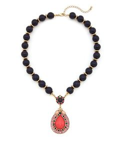 Precious Droplet Necklace - Multicolored