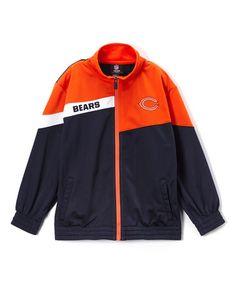 Look at this #zulilyfind! Chicago Bears Deflect Tricot Track Jacket - Boys #zulilyfinds