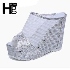 New arrival: Mesh Wedges High ... Buy it now: http://simplysonya731.net/products/mesh-wedges-high-heels?utm_campaign=social_autopilot&utm_source=pin&utm_medium=pin