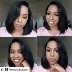 #Repost @ifancycupcakes (via @repostapp) ・・・ Hey guys! My review for this gorgeous wig is on my channel! This is Model Model Dream in color #2. It is sooooo pretty and natural. Go check out my review and share it with your friends :) #modelmodeldream #wigreview #wig #hairreview #youtube #youtuber #theheartsandcake90 #ifancycupcakes #beautyvlogger