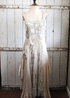 For Junk-O-Rama Prom - inspiration - ❥ Alabama ruffle dress from The Gypsy Wagon~