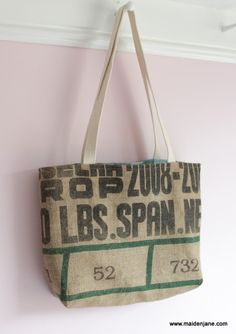 Bag from coffee sack!