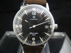 Vintage Omega Seamaster 600 Military Watch Cal 613 | eBay