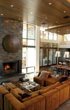 Melhoff Residence, Whitefish Montana - Lyndon Steinmetz Design Studio LLC (the talented hubby)
